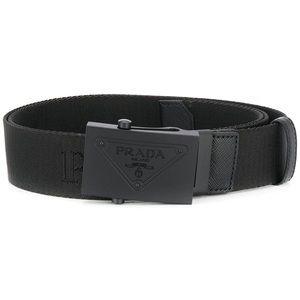 Prada - Logo Plaque Belt